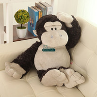 baby gorilla - Dorimytrader cm Funny Stuffed Soft Plush Giant Animal Gorilla Toy Cute Monkey Doll Great Baby Gift DY61053