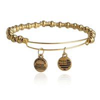 alloy animation - Alex and Ani Bangle Bar Nile Bangle Bracelet Vintage Beaded Adjustable Jewelry Animation Movie Charm Bracelets For Women