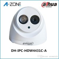 Wholesale Dahua H2 IPC HDW4431C A Built in MIC HD MP IR m network IP Camera security cctv Dome Camera Support POE HDW4431C A