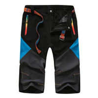 big overalls - Men Calf Length Pants Summer Outdoor Overalls Men s Ski Pants Waterproof Climbing Cargo Pants Trousers Big Size XL XL