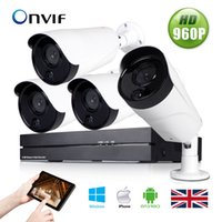 Wholesale 4CH H NVR HD P IR Cut PoE Network Outdoor CCTV Security IP Camera System support password protection support system reset