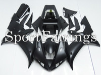 Wholesale OEM Fairings Fit Yamaha YZF1000 R1 Year ABS Motorcycle Full Fairing Kit Bodywork Motorbike Cowling Black Matte