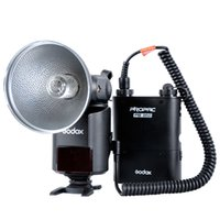 Wholesale GODOX Witstro AD W GN80 External Portable Flash Speedlite Light PB960 Lithium Battery Pack Kit for Canon Nikon Camera Photo D1333