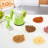 Wholesale Manual stainless steel mince machine multi function broken dish machine ground paste stir meat machine small play the garlic pepper machine