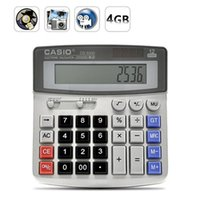 Cheap 2016 hot sales Real Office Business Calculator Hidden Spy Pinhole Camera DVR Video Recorder DV Free Shipping