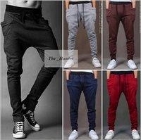 Wholesale Men Harem Baggy Sweat Pants Athletic Sporty Casual Pants Tapered Sport Hip Hop Dance Trousers Men s Fashion Slacks Joggers SweatPants