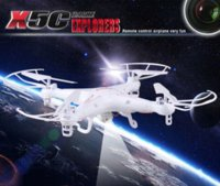 Wholesale SYMA X5C Quadcopter Drone Explorer RC Helicopter With HD Camera M Pixels G CH axis RC Toys RC Aircraft