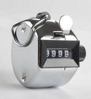 Wholesale Tally Counter Hand Held Golf stroke Lap Inventory count Metal Hot Sale New Arrival