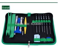 Wholesale New in opening tools repair tools mobile phone disassemble tools kit for iPhone iPad HTC Cell Phone tablet WXSFT013