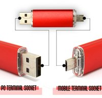 cell phone memory - GB Real Full Capacity OTG USB Memory Stick For Cell Phones Tablet PC LDR O02