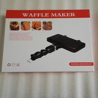 Wholesale DIY Non Stick Metal Egg Waffle Maker Cookie Mould Baking Pan