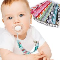 Wholesale Factory price safe Baby Boy Girl Dummy Pacifier Soother Nipple Leash Strap Chain Cute Holder