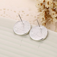 Wholesale Tone earrings Letters stud earings Fashion jewelry brand jewellery for women girls Silver Gold Rose Gold
