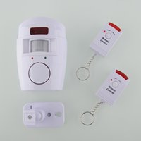 Wholesale High Quality IR Infrared Wireless Home Security Motion Sensor Alarm Burglar Detector with Remote Control