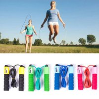 Wholesale Exercise Fitness Speed Skipping Jump Rope Automatic Counting sponge rubber F00387