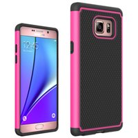 anti skid backing - for Samsung Galaxy Note Cell Phone Case Mobile Back Cover Light Shell Thin Armor Protector Shockproof Anti skidding Rugged PC TPU Bumper
