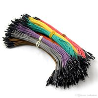 Wholesale For Arduino pin cm male to male Dupont cable Wire Color Jumper Cable G00007 SMAD