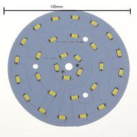 Wholesale 10pcs dozen W W W W W W SMD Ceiling Light Lamp Round Ring LED Panel board