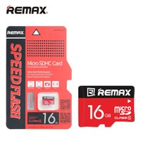 Wholesale 16GB Micro SD Card TF Card Original Remax Brand Ultra Fast Speed Mbs Class full capacity with retail package