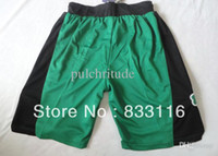 Wholesale New Super Material Basketball Shorts BOSTON RONDO GARNETT PIERCEGreen M L XL XXL Retail Wholesales