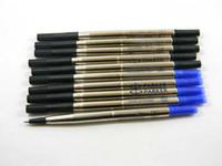 Precio de Cartuchos de tinta de la fuente al por mayor--5 x 5pcs azul negro Fountain Pen M recambio para los efectos de escritorio del envío libre
