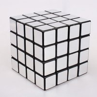 best toy mirror - Educational toys Best Magic Cast Coated cube x4x4 silver puzzle cube Mirror Surface Puzzle Speed Cube