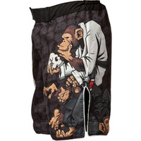 Wholesale Hot Sale Men Polyester Microfiber Muay Thai Kick Boxing Shorts Boxe Tatami Thinker Monkey Mma Shorts