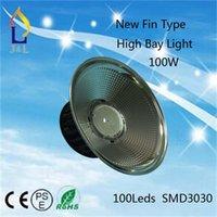 Wholesale 100W W W led highbay New fin type degree cover highbay highbay led light for umbrella highbay light