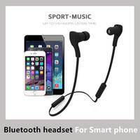 Bluetooth Headset best headphones running - Sport In Ear Bluetooth Headphone Running Stereo Wireless Earphone Best Earbuds with Mic Headset Handfree For iPhone Samsung LG HTC