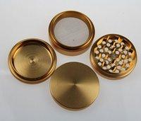 aluminum parts - Herb Grinder Tobacco grinder All Aluminum quot parts grinder metal grinder smoking grinder mix colors CNC teeth grinder