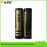 Wholesale original new rechargeable Li ion battery UMST V mah High capacity lithium ion power battery for vape