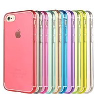 Wholesale For Apple iPhone iPhone7 Plus Case Slim Crystal Clear Soft TPU Silicone Protective sleeve for iPhone iphone s s plus cover cases Capa