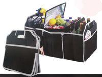 basket trunks - Grocery Tote Car Trunk Bin Gear Tools Organizer Basket Food Shop Storage Bag Large Via