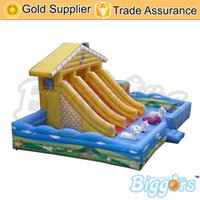 inflatable games inflatable bouncer - Large Bouncer House Inflatable Jumping Castle Slide Games For Play