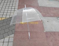 big clear umbrella - 200pcs quot Big Clear Cute Bubble Deep Dome Princess Umbrella Mushroom transparent umbrella