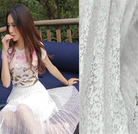 Wholesale LM High Quality Multicolor inch Latest African cord lace fabrics Swiss voile lace French trims lace fabric for Wedding Dress white