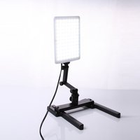 photographic stand - Professional CN T96 K LED Light Lamp W with Mini Shooting Bracket Stand Set Photographic Lighting Kit