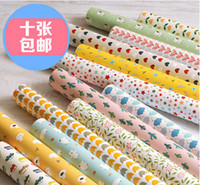 Wholesale 76 cm printing handmade packing paper gift wrapper paper custom scrapbooking paper sheet