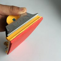 auto sand paper - auto Repair Tools complement lacquer sand paper burnish device Hand tools automotive paint plastic red sponge sandpaper pad holder plate