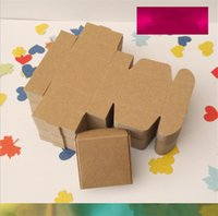 Wholesale cm Aircraft Cardboard Pack Boxes Smart Little Sized Craftwork Gift Fastener Ear Rings Kraft Paper Boxes