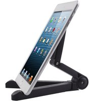 Wholesale Portable Folding Adjustable iPad Tablet Desk Holder Mount Stand For to inch Galaxy Tablet iPad Air