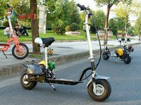 Wholesale 49CC four stroke gasoline scooters Mini Motorcycle Gas powered Scooter Single motorcycle