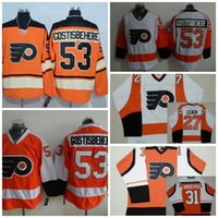 Wholesale Mix Order Philadelphia Flyers Jerseys Shayne Gostisbehere Lindbergh LEACH Winter Classic Orange Throwback Hockey