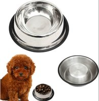 Wholesale New Small Pet Bowl Removable Puppy Food Water Supply Stainless Steel Dog Cat Feeding Dish