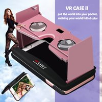 Wholesale 2016 New VR Case for iPhone6 Plus S Mobile Phone VR D case Compatible with All VR App and Games