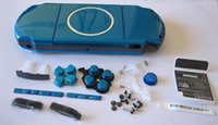 Wholesale Repair Parts Full Housing Shell Case Buttons Keypad Set for PSP Console Shell Skin Cover Replacement Colors
