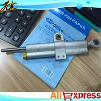 Wholesale 1 New Motorcycle silver OHLINS Steering Damper for YAMA HA YZ F1000 R1 YZF R6 XJR S1000 S1000RR
