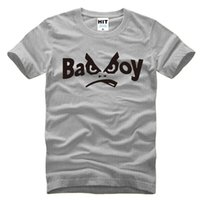 bad silver - WISHCART Creative Personality Bad Boy Letter Printed Men s T Shirt T Shirt For Men New Short Sleeve O Neck Cotton Casual Top Tee