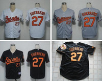 baltimore oriole shirts - Baltimore Orioles Vladimir Guerrero Black White Grey Jersey Embroidery Logo Athletic Shirts Jersey size extra small xl cheap
