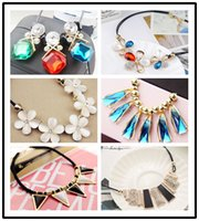 diamond solitaire - fashion jewellery styles mixed color opal acrylic sweater diamond pearl necklace statement necklaces for women charm bracelets